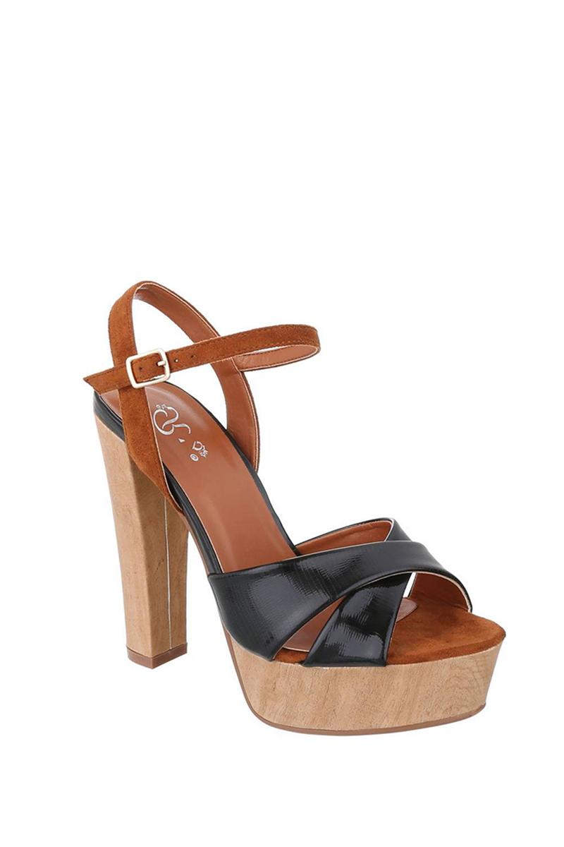 0ac75c241643 Jessyss - Sandále s platformou a vysokým podpätkom