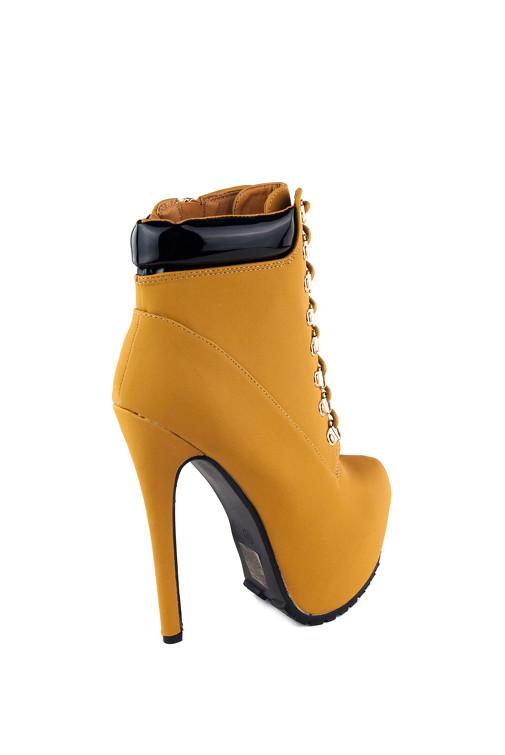 30a9fbf9eefb Jessyss - Členkové topánky na vysokom podpätku a platforme
