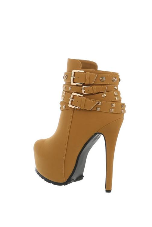 ffc70475f5b6 Jessyss - Členkové topánky s remienkami