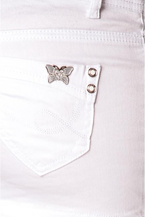 ac20c820d918 Jessyss - FIONINA JEANS Weißer Minirock aus Baumwolle